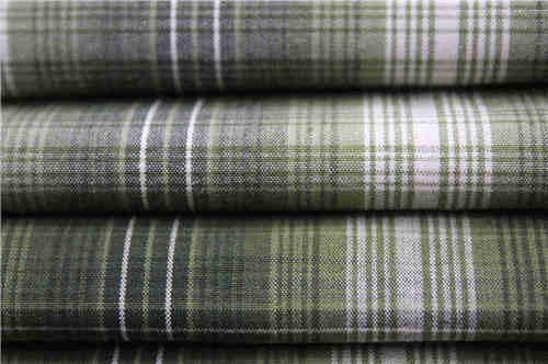 吸湿排汗格子布,格子衬衫面料厂家