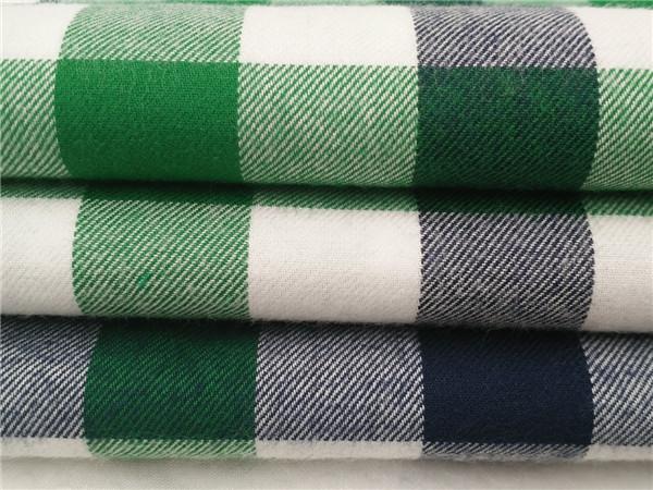 全棉法兰绒,双面磨毛布厂家