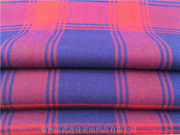 人棉格子布,色织全人棉面料,厂家定制