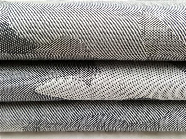 全棉色织迷彩大提花面料