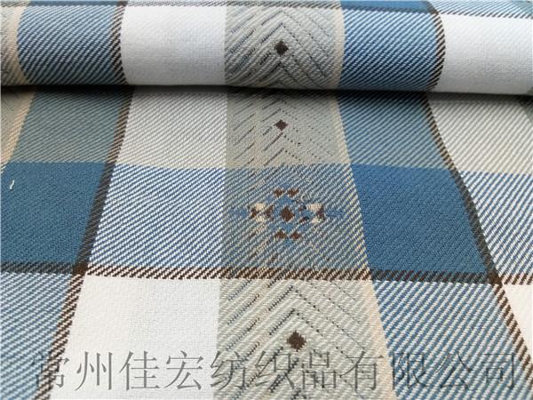 40/2*40/2全棉色织大提花面料生产