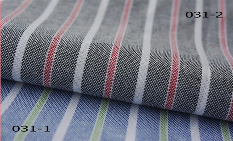 喷气机织造,色织条纹牛津纺