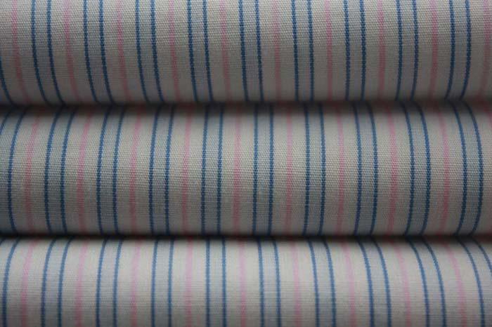 高档衬衫面料,免烫抗皱条子布