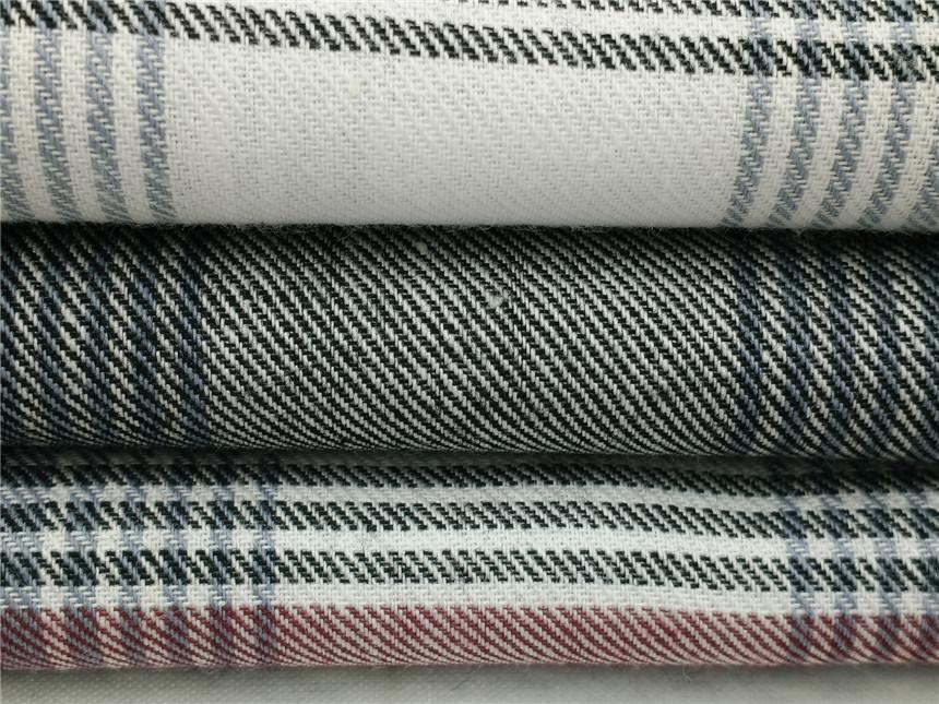 斜纹衬衫面料,斜纹法兰绒面料
