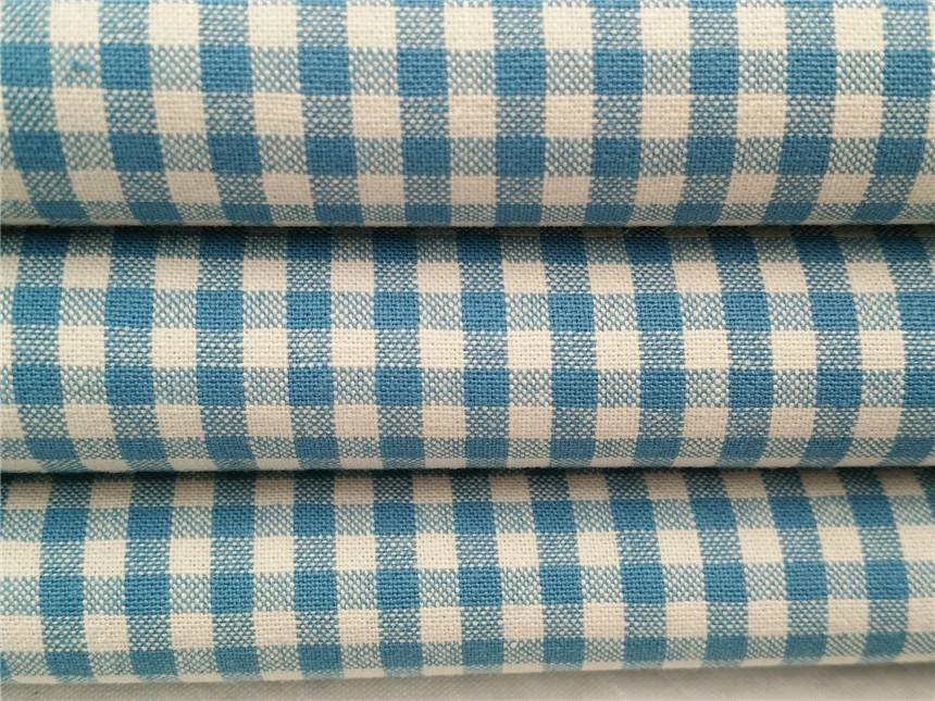 全棉衬衫格子布,全棉色织布,格仔布厂家