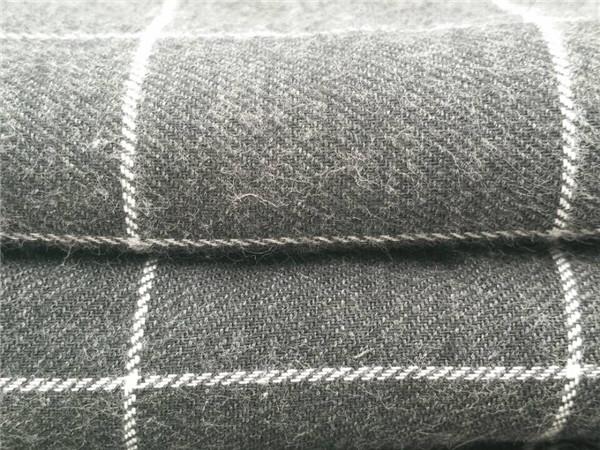 人棉法兰绒面料,人棉色织面料厂家