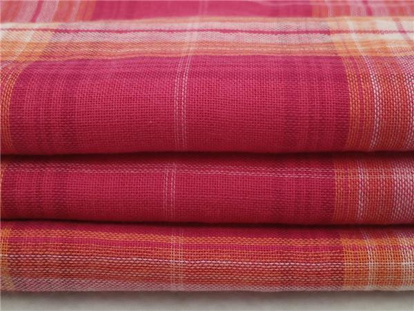 全棉双层布,色织双层布生产