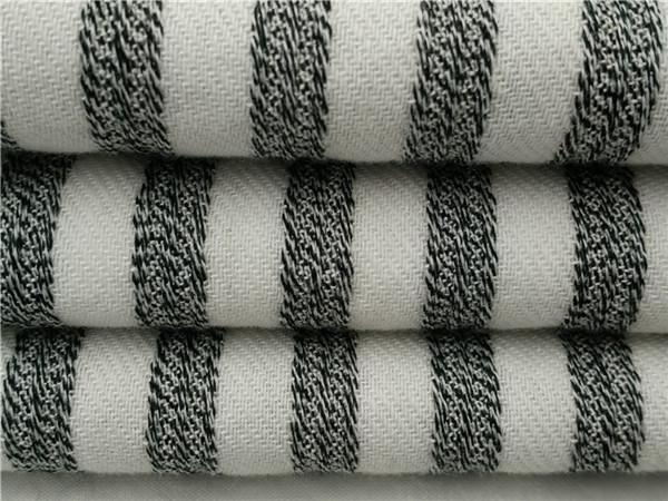 人棉色织布,条子布