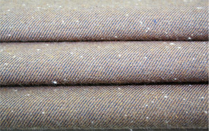 斜纹彩点青年布,160克面料