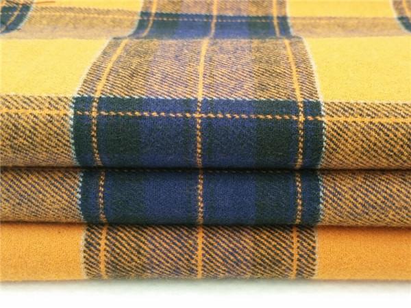 色织起绒布,单面绒面料
