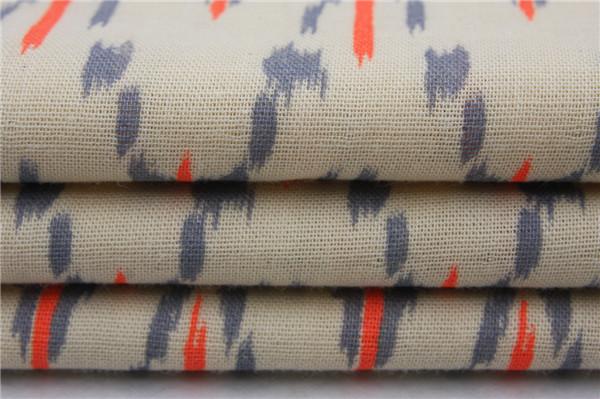 全棉双层布,双层布印花面料厂家