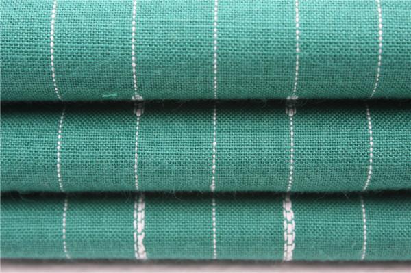 提花竹节布,全棉条子布厂家