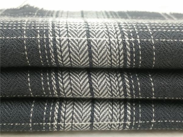 人造棉格子布,人棉面料生产