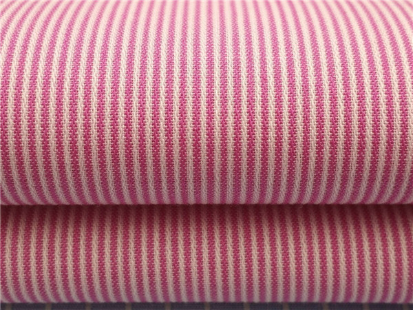 60C40T条子布,45支条子布,色织条子衬衫面料