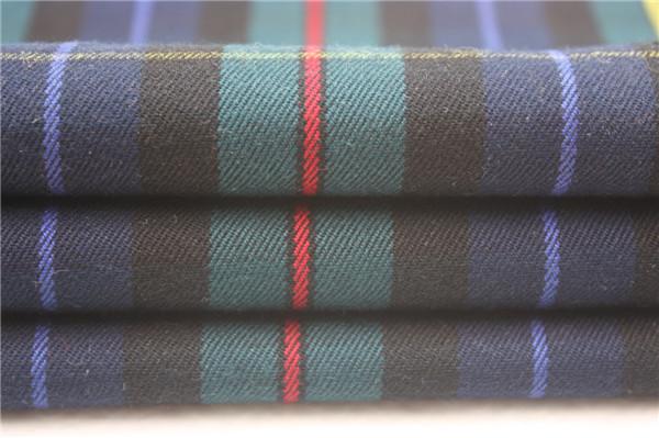 衬衫格子布,全棉格子布,TR色织面料厂家