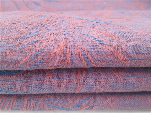 色织棉麻大提花,色织衬衫大提花面料厂家