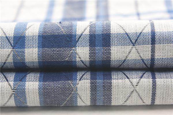 全棉提花雙層布,靛藍雙層布生產定制