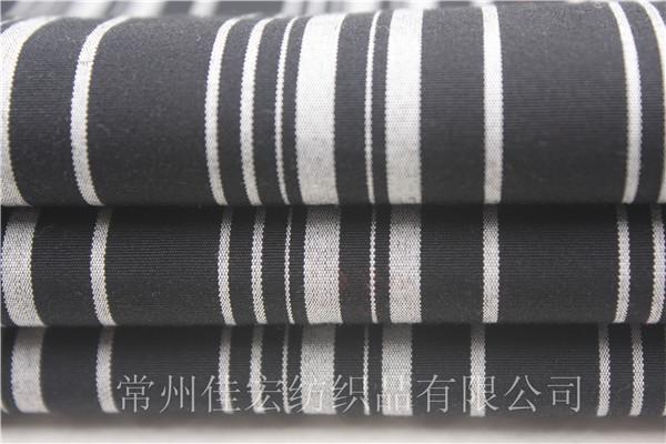 色织弹力布,全棉80/2弹力布定制