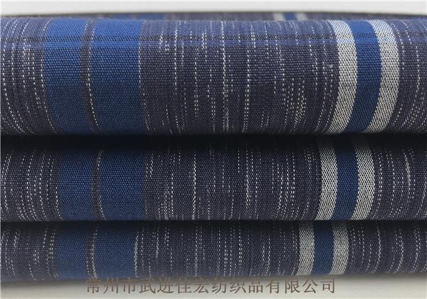 全棉色织面料,40支段彩格子面料定制厂家
