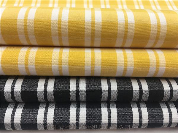 棉弹格子布,色织格子面料,供应厂家