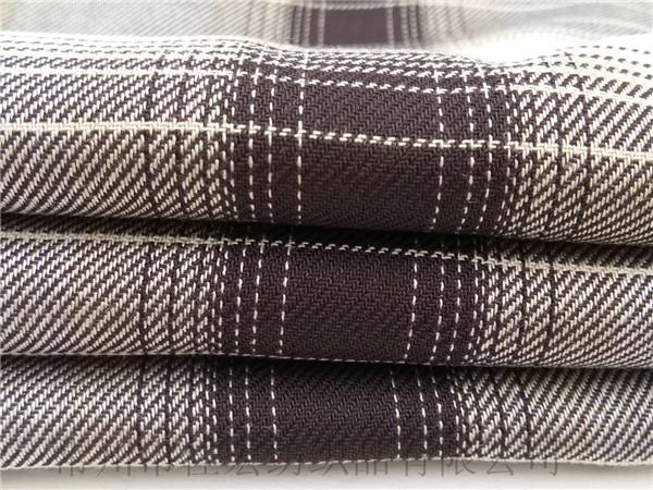 20支全人棉格子布,160克色织人棉布,厂家定制