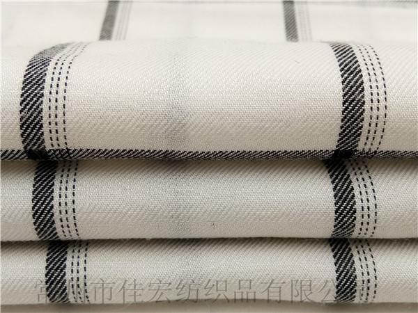 全人棉色织面料,人棉色织条布,人造棉面料厂家