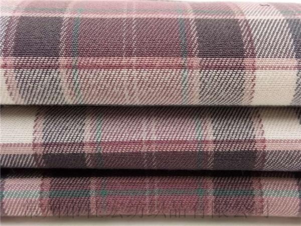 天丝棉格子布,天丝人棉面料生产定制