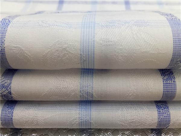 色织格子提花布生产,全棉大提花面料定制
