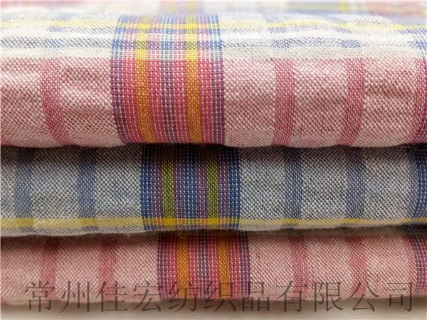色织泡泡纱面料,泡泡布衬衫面料生产