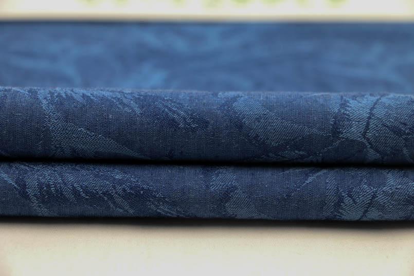 色织麻棉大提花生产定织