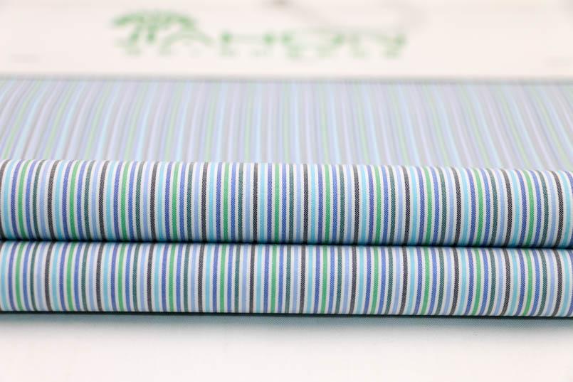 色织全涤条布厂家生产